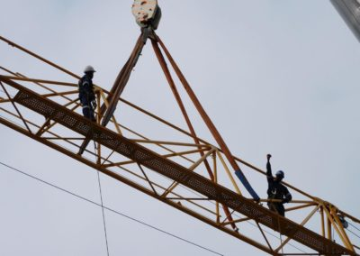 riggers at height